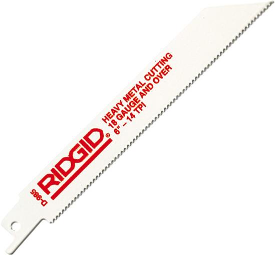 RIDGID Биметаллические полотна RIDGID для цветного металла, чугуна и листовой стали 80500