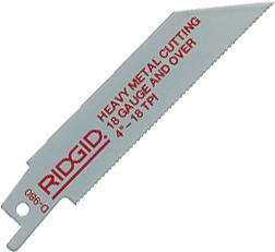 RIDGID Биметаллические полотна RIDGID для цветного металла и труб с гальваническим покрытием 80520