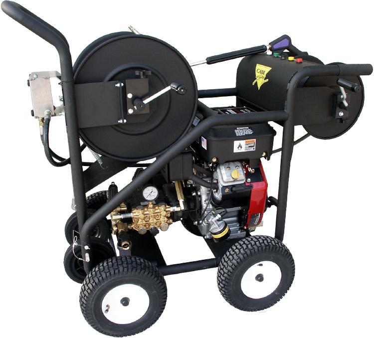 CAM Spray Гидродинамическая прочистная машина с бензиновым приводом CAM Spray EJ-SW3000.4 SW30004HR