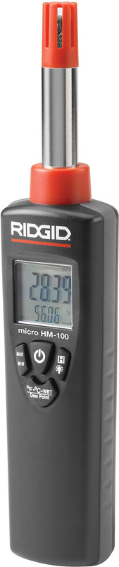 RIDGID Измеритель температуры и влажности RIDGID micro HM-100 37438