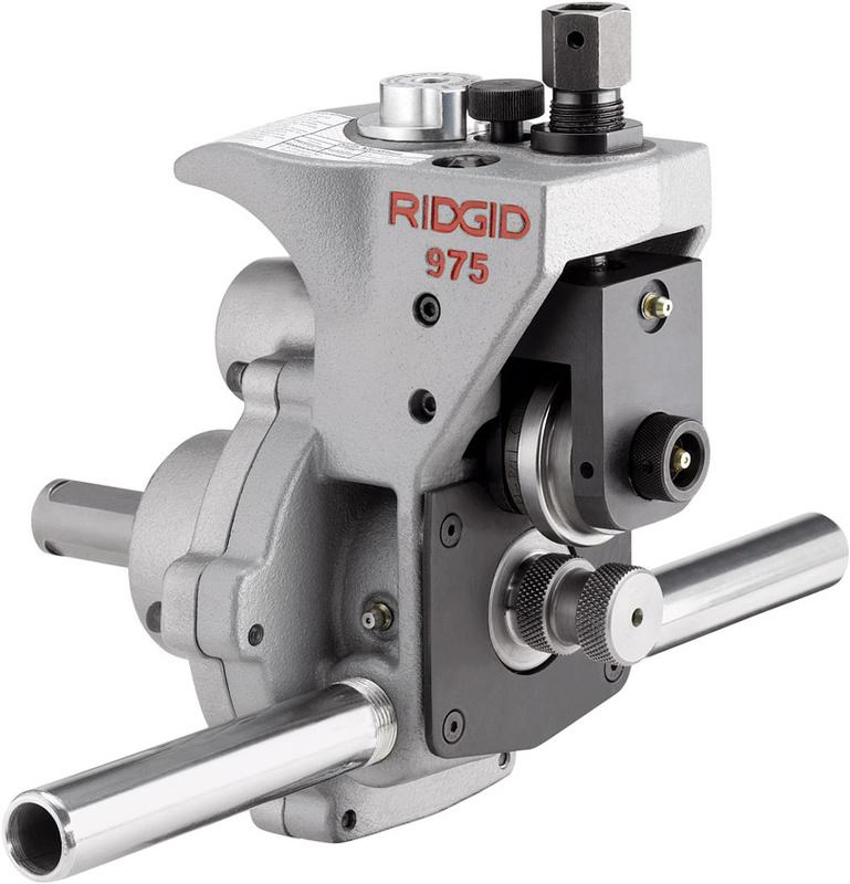 RIDGID Комбинированный желобонакатчик RIDGID 975 для привода RIDGID 300 Compact и 1233