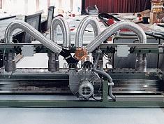 Использование центробежного вентилятора среднего давления Leister ASO