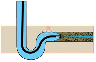 Высоконапорная водоструйная прочистная машина ej cs 1000 2