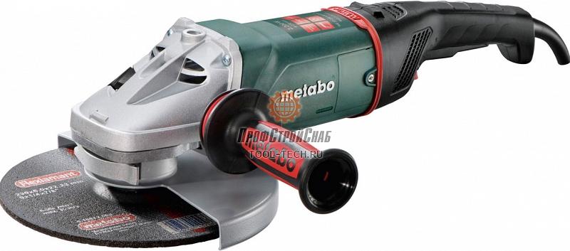 Угловая шлифовальная машина Metabo WE 22-230 Quick 606465000
