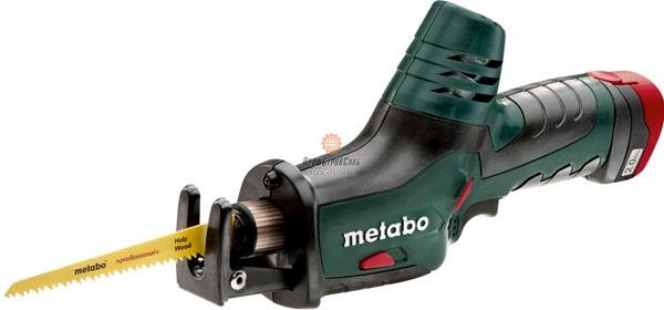 Аккумуляторная сабельная пила Metabo Metabo PowerMaxx ASE 602264890