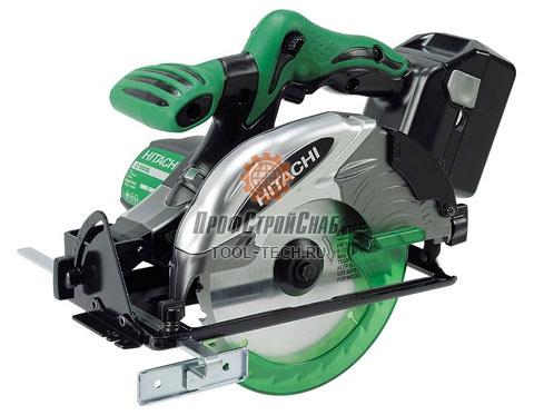 Аккумуляторная циркулярная пила Hitachi C 18DSL 93200536