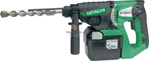 Аккумуляторный перфоратор Hitachi DH 36DAL 93222676