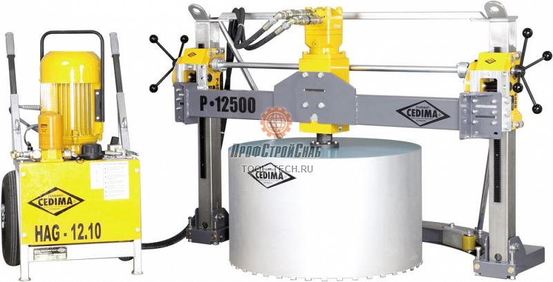 Алмазная сверлильная машина Cedima P-12500 (Опоры для сверлильных колонн (необходимо 2 шт.)