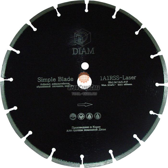 Алмазные диски по асфальту Diam Simple Blade 1A1RSS 000094