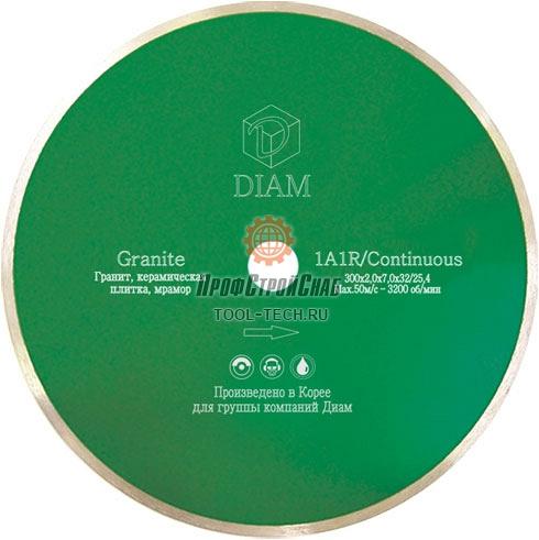 Алмазные диски по граниту Diam Granite 1A1R Корона 000240