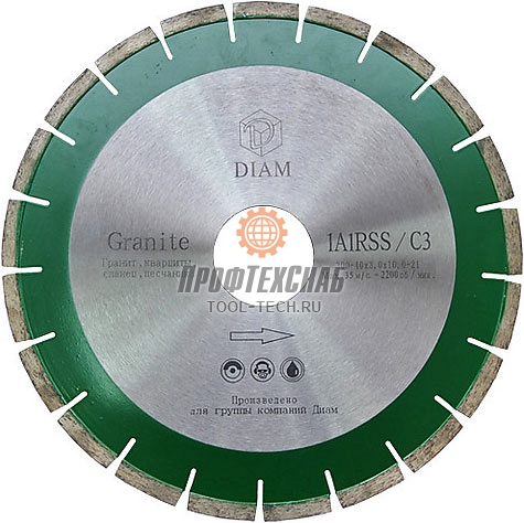 Алмазные диски по граниту Diam Granite 1A1RSS 450