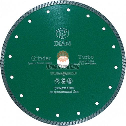 Алмазные диски по граниту Diam Turbo Grinder 115