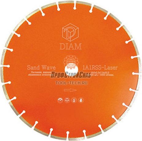 Алмазные диски по кирпичу Diam Sand Wave 1A1RSS