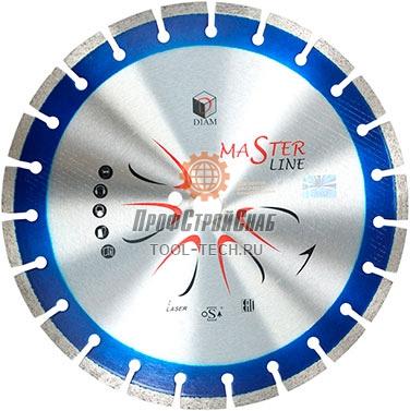 Алмазные диски по железобетону Diam Железобетон Master Line 000499