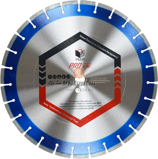 Алмазные диски по железобетону Diam Железобетон Pro Line 1A1RSS 030636