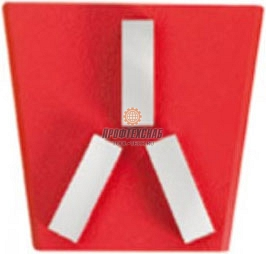 Алмазные франкфурты для мозаично шлифовальных машин GM Messer Medium 01-42-032