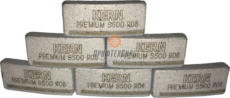 Алмазные сегменты для коронок Kern PREMIUM S500 S500RS0