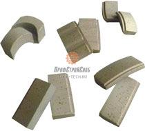 Алмазные сегменты для коронок Solga Diamant 12/600