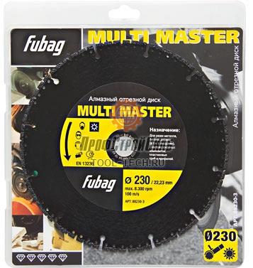Алмазный диск для болгарки Fubag Multi Master 88115-3