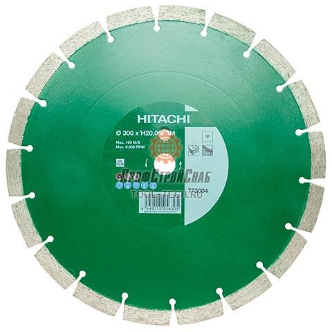 Диск алмазный универсальный Hitachi STANDARD BLADE FOR UNIVERSAL PURPOSE 773004