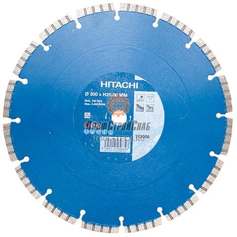Алмазный диск по бетону Hitachi LASER PRO FOR CONCRETE 773008