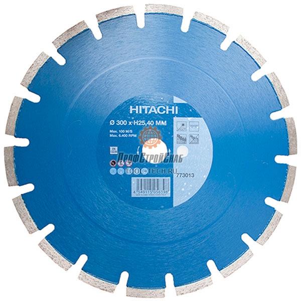 Алмазный диск по бетону Hitachi LASER STANDARD FOR CONCRETE 773012