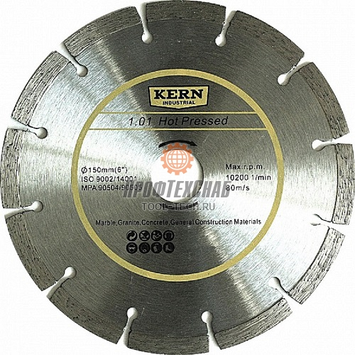 Алмазный диск KERN Hot Pressed серия 1.01 K500115717