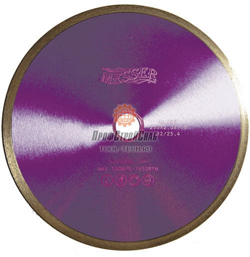 Алмазные диски по граниту Messer G/L 01-22-125
