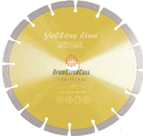 Алмазные диски по граниту Messer Yellow Line Granite 01-02-125
