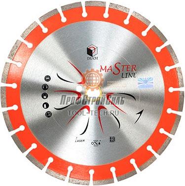 Алмазный диск по бетону Diam Универсал Master Line 000498