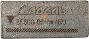 Алмазные сегменты Adel PREMIUM BF 600 25/28