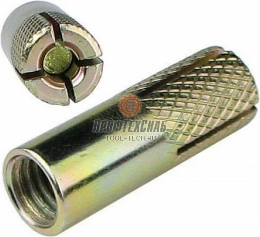 Анкер клиновой забивной распорный для бетона Kern M12 0106003