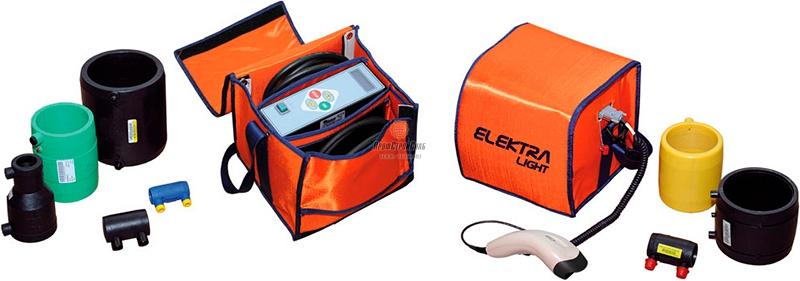Аппарат для электромуфтовой сварки полимерных труб Ritmo ELEKTRA LIGHT 96906063