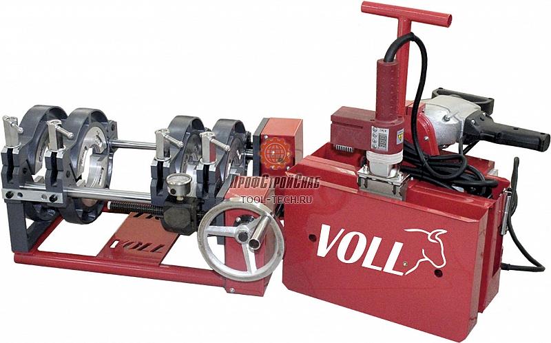 Аппарат для стыковой сварки полиэтиленовых труб Voll V-Weld M160 4.00161