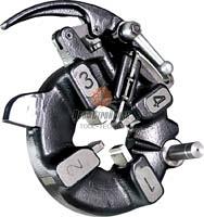 Автоматическая резьбонарезная головка KERN КА15 до 2
