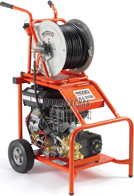 Бензиновая гидродинамическая прочистная машина RIDGID KJ-3100 37413