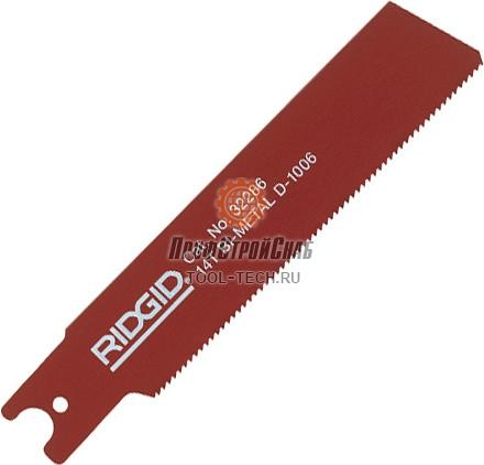 Биметаллические полотна RIDGID для стальных труб, древесины с гвоздями и универсального применения 32286
