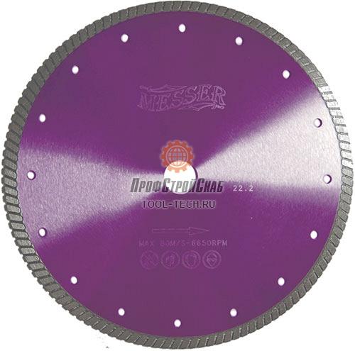 Алмазные диски по граниту Messer Turbo G/M 01-33-125