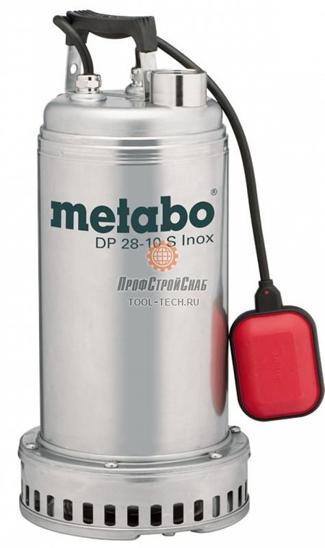 Дренажный насос Metabo DP 28-10 S INOX 604112000