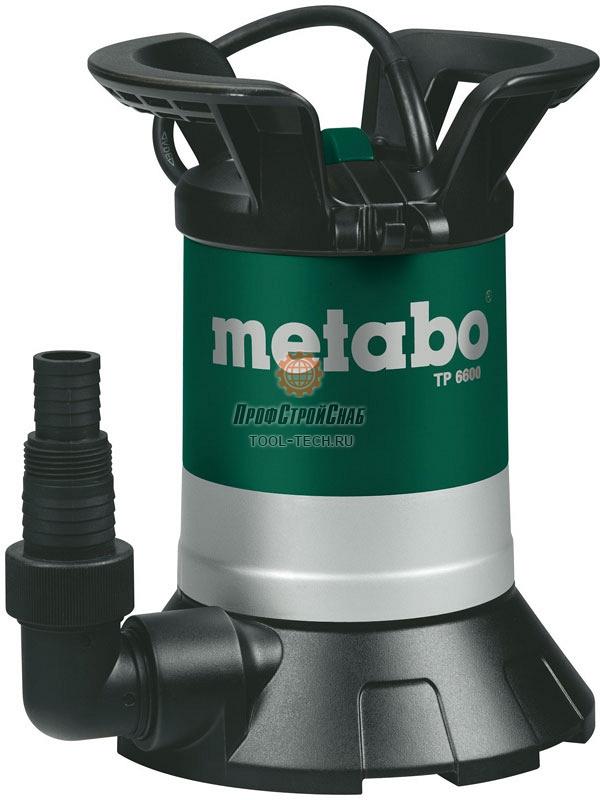Дренажный насос Metabo TP 6600 0250660000