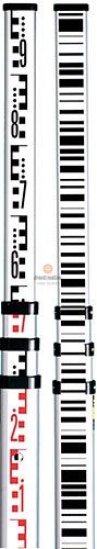 Двусторонняя телескопическая нивелирная рейка Leica GSS111 741882