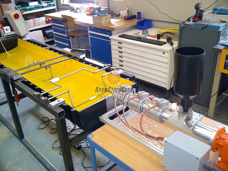 Экструзионная линия для производства сварочного прутка HSK-LK30 S HSK-LK30 S