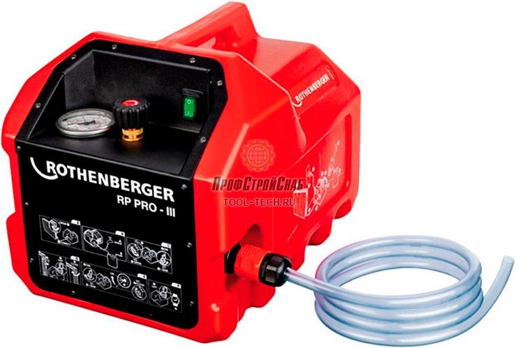 Электрический опрессовочный насос Rothenberger RP PRO 3 61185