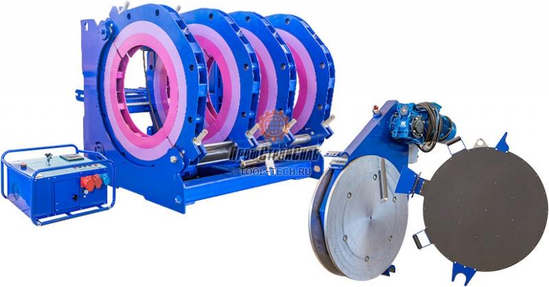 Электрогидравлическая машина для стыковой сварки пластиковых труб Волжанин ССПТ-1200 ССПТ-1200Э