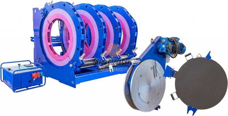 Электрогидравлическая машина для стыковой сварки пластиковых труб Волжанин ССПТ-1600 ССПТ-1600Э