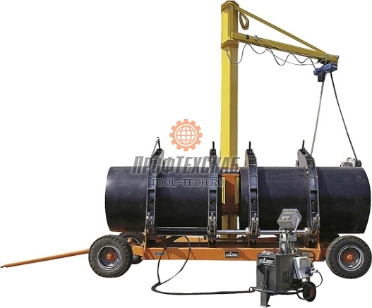 Электрогидравлическая стыковая сварочная машина Ritmo DELTA 1200 91550500
