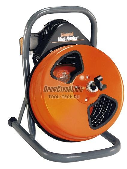 Электромеханическая машина для прочистки труб канализации General Pipe Cleaners MR Крот-Мини MR
