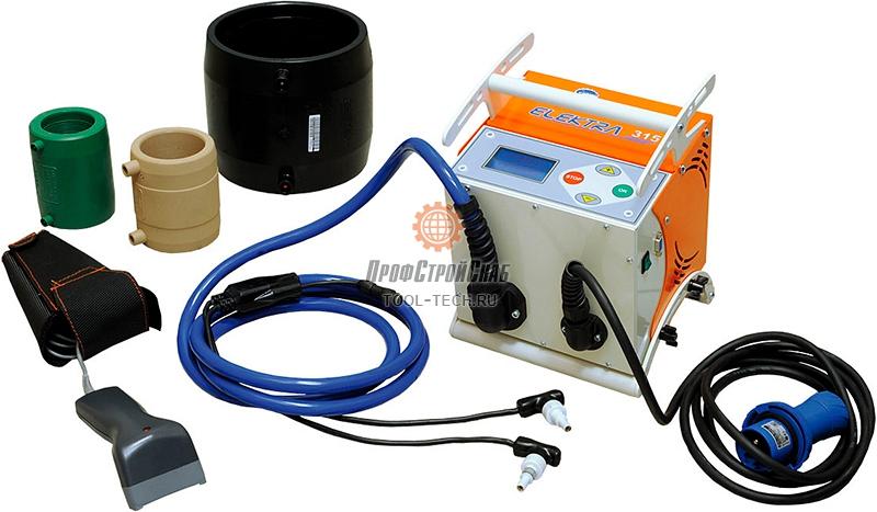 Электромуфтовый сварочный аппарат Ritmo ELEKTRA 315 96906120К