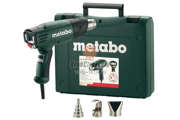 Фен технический Metabo HE 23-650 Control 602365500
