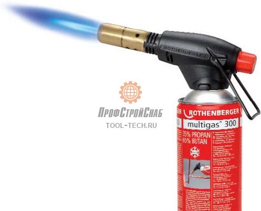 Газовая горелка на баллончик Rothenberger ROFIRE PIEZO 35429